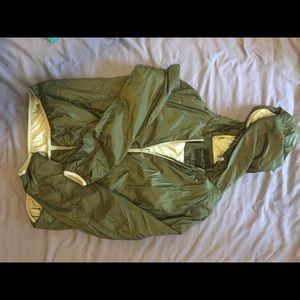 Green adjustable zip up!